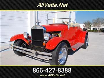 1932 Ford Kit Car for sale at AllVette LLC in Stuart FL