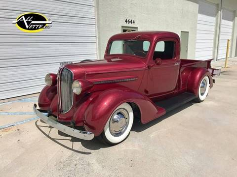 1938 Plymouth Pickup for sale at AllVette LLC in Stuart FL