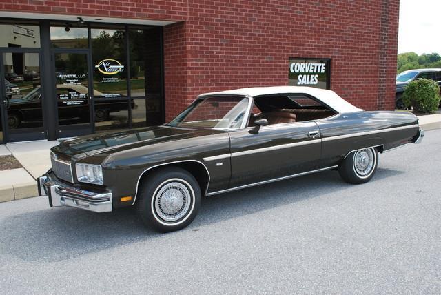 1975 Chevrolet Caprice for sale at AllVette LLC in Stuart FL