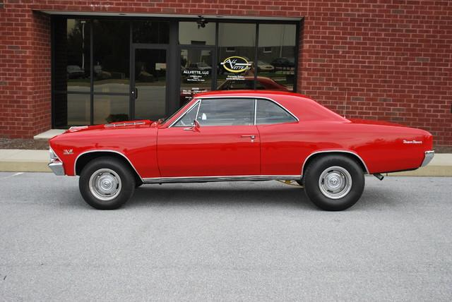 1966 Chevrolet Chevelle SS for sale at AllVette LLC in Stuart FL