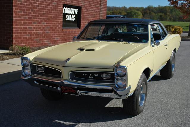 1966 Pontiac GTO for sale at AllVette LLC in Stuart FL