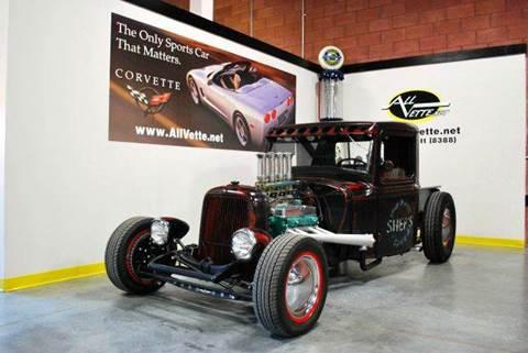 1932 Ford pickup for sale at AllVette LLC in Stuart FL