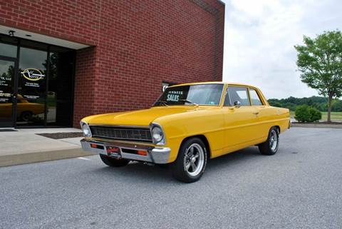1966 Chevrolet Nova for sale at AllVette LLC in Stuart FL