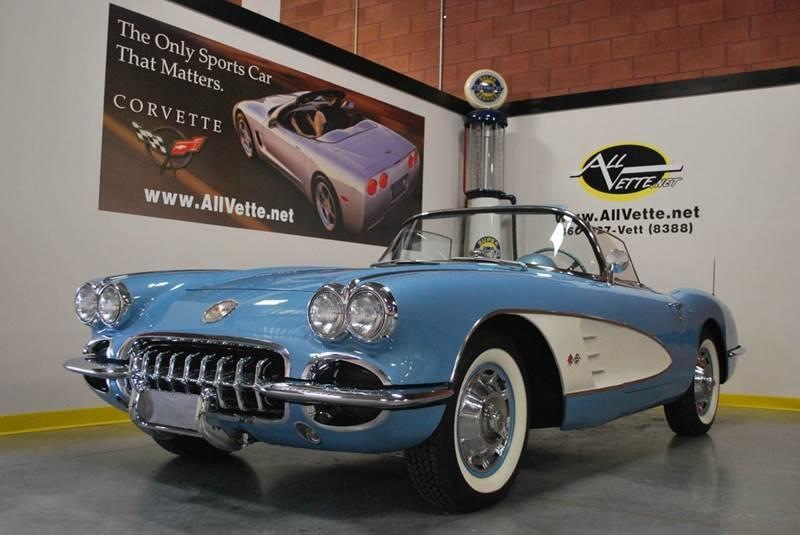 1960 Chevrolet Corvette for sale at AllVette LLC in Stuart FL