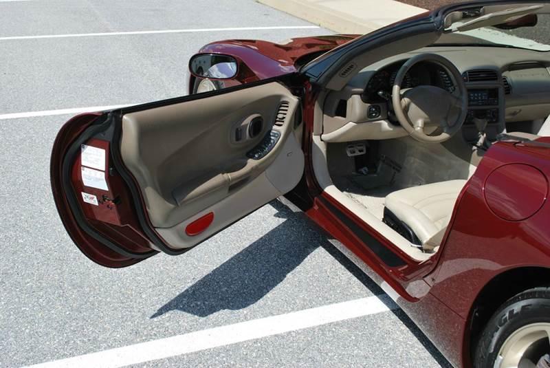 2003 Chevrolet Corvette for sale at AllVette LLC in Stuart FL