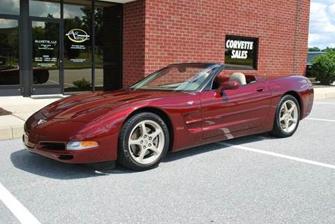 2003 Chevrolet Corvette for sale at AllVette LLC in Stuart FL