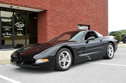 2004 Chevrolet Corvette for sale at AllVette LLC in Stuart FL