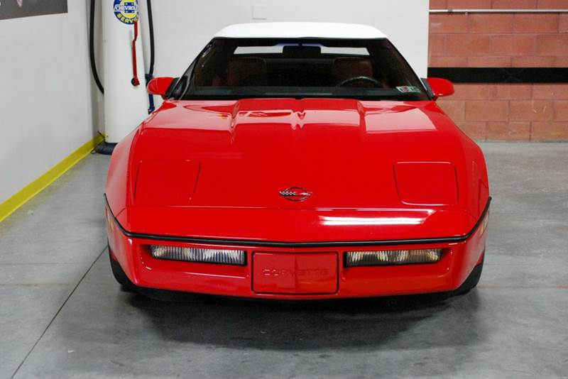 1986 Chevrolet Corvette for sale at AllVette LLC in Stuart FL