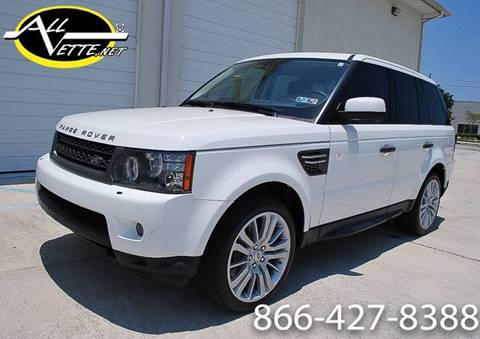 2011 Land Rover Range Rover Sport for sale at AllVette LLC in Stuart FL