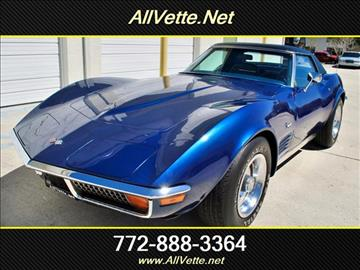 1972 Chevrolet Corvette for sale at AllVette LLC in Stuart FL