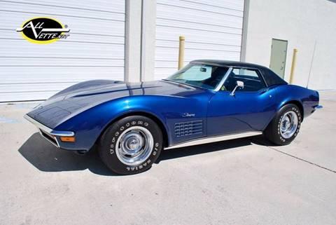 1972 Chevrolet Corvette for sale in Stuart, FL