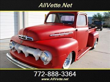 1951 Ford Other Pickups for sale at AllVette LLC in Stuart FL