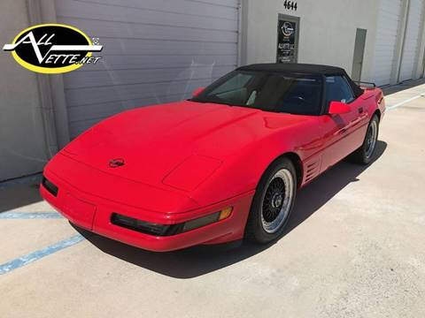 1994 Chevrolet Corvette for sale at AllVette LLC in Stuart FL