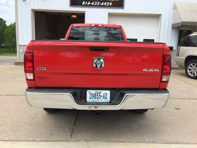 2009 Dodge Ram Pickup 1500 4x4 SLT 2dr Regular Cab 8 ft. LB Pickup - Cameron MO