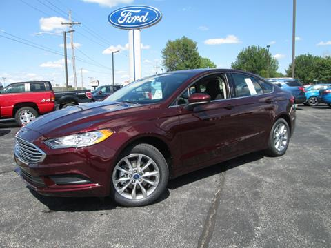 2017 Ford Fusion for sale in Crawfordsville, IN