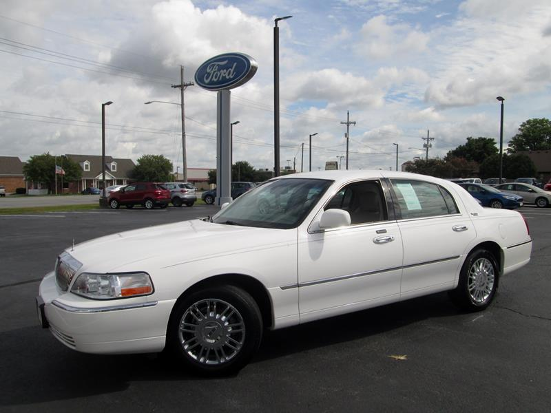 2009 Lincoln Town Car Signature Limited 4dr Sedan In Crawfordsville