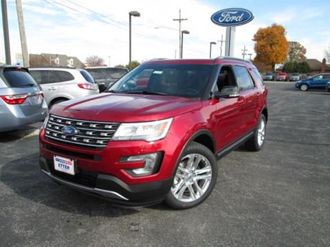 2017 Ford Explorer for sale in Crawfordsville, IN