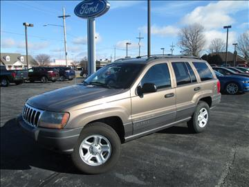 2001 Jeep Grand Cherokee for sale in Crawfordsville, IN