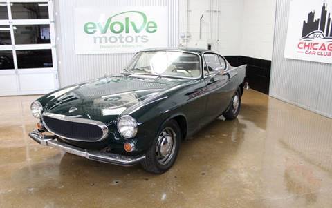 1968 Volvo P1800 S for sale at Evolve Motors in Chicago IL