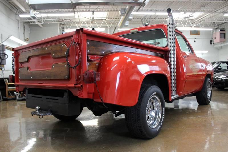 1978 Dodge D150 Pickup for sale at Evolve Motors in Chicago IL