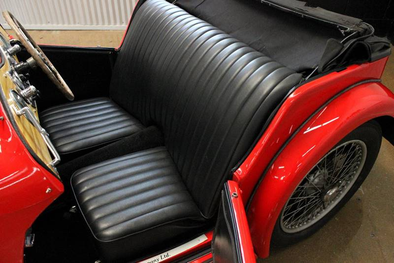 1938 MG TA for sale at Evolve Motors in Chicago IL