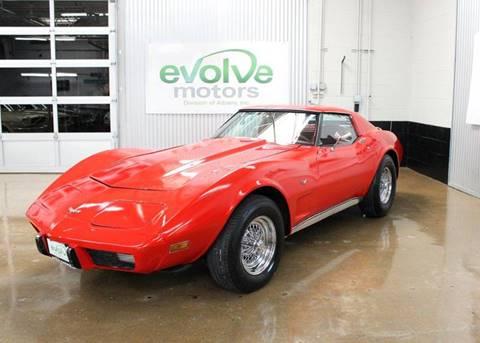 1977 Chevrolet Corvette for sale at Evolve Motors in Chicago IL