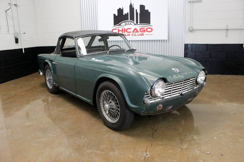 1963 Triumph TR4 for sale at Evolve Motors in Chicago IL
