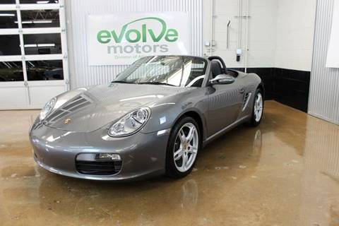 2007 Porsche Boxster for sale at Evolve Motors in Chicago IL