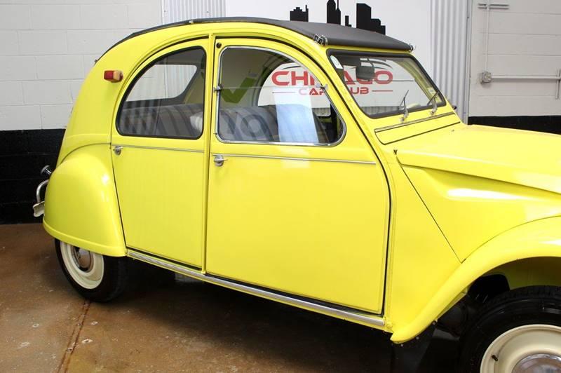 1965 Citroen 2CV for sale at Evolve Motors in Chicago IL