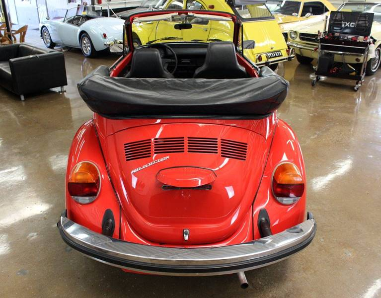 1976 Volkswagen Beetle Convertible for sale at Evolve Motors in Chicago IL