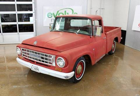 1963 International C1000 for sale at Evolve Motors in Chicago IL