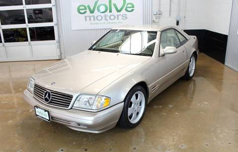 2000 Mercedes-Benz SL-Class for sale at Evolve Motors in Chicago IL