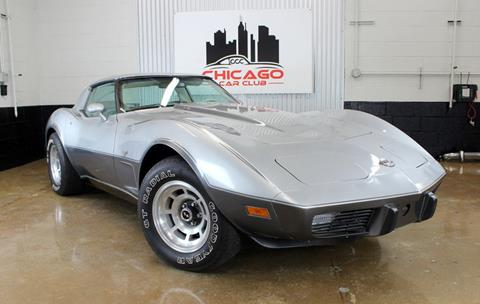 used chevrolet corvette for sale in chicago il. Black Bedroom Furniture Sets. Home Design Ideas
