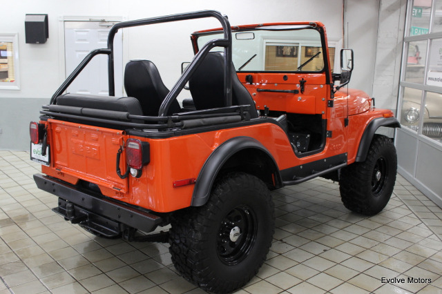 1975 Jeep CJ-5 for sale at Evolve Motors in Chicago IL