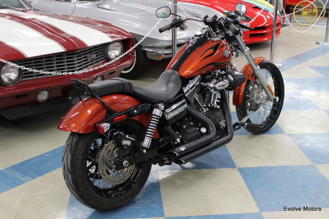2011 Harley-Davidson Dyna Wide Glide for sale at Evolve Motors in Chicago IL