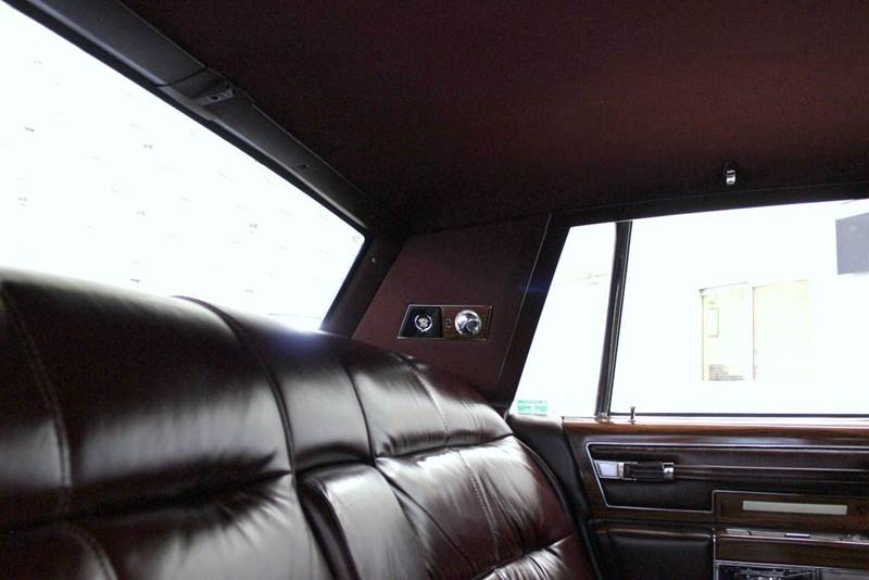1977 Cadillac Fleetwood Brougham for sale at Evolve Motors in Chicago IL