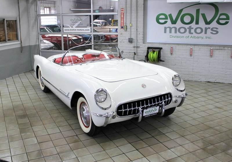 1954 Chevrolet Corvette for sale at Evolve Motors in Chicago IL