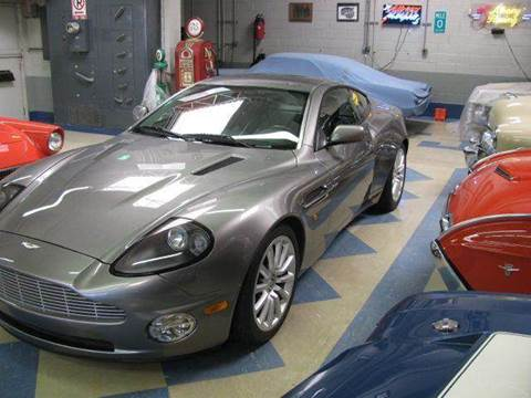 2003 Aston Martin Vanquish for sale at Evolve Motors in Chicago IL