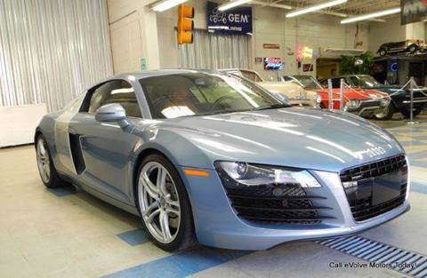 2009 Audi R8 for sale at Evolve Motors in Chicago IL