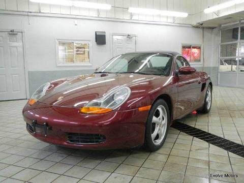 1998 Porsche Boxster for sale at Evolve Motors in Chicago IL
