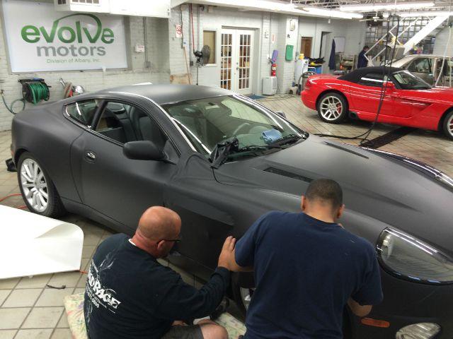 2003 Aston Martin Vanquish for sale at Evolve Motors in Chicago IL