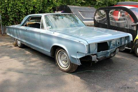 1965 Chrysler 300 for sale at Evolve Motors in Chicago IL