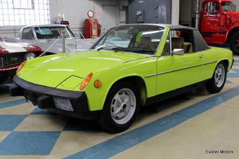 1974 Porsche 914 for sale at Evolve Motors in Chicago IL