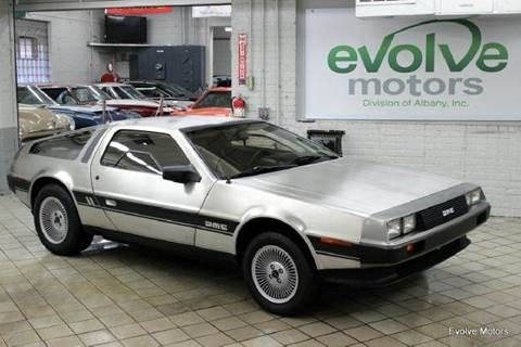 1981 DeLorean DMC-12 for sale at Evolve Motors in Chicago IL