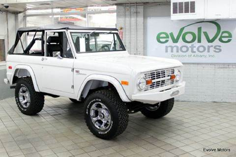 1976 Ford Bronco for sale at Evolve Motors in Chicago IL