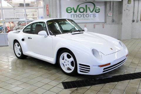 1982 Porsche 911 for sale at Evolve Motors in Chicago IL