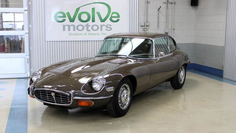 1971 Jaguar E-Type for sale at Evolve Motors in Chicago IL