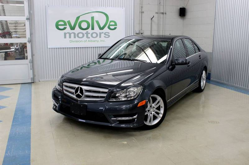 2013 Mercedes-Benz C-Class for sale at Evolve Motors in Chicago IL