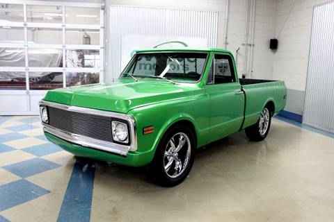 1972 Chevrolet C/K 10 Series for sale at Evolve Motors in Chicago IL