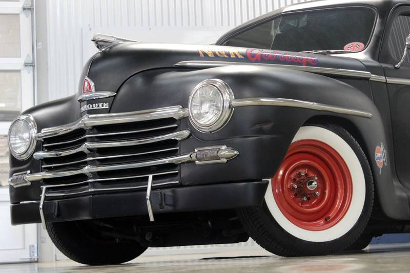 1948 Plymouth Tudor Sedan for sale at Evolve Motors in Chicago IL